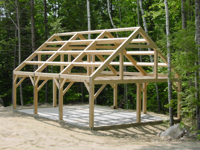 Attractive post and beam kits maine 3 for Maine post and beam kits