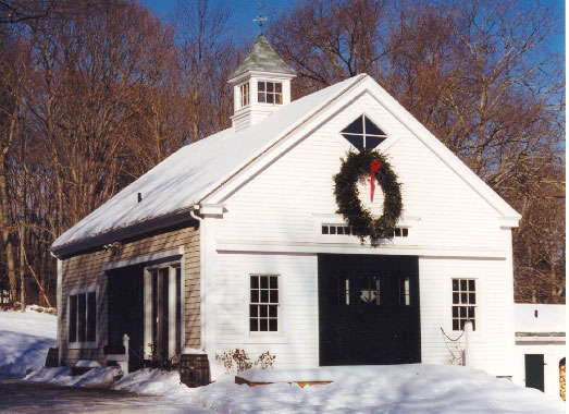 Completed barns maine barn company for New england shed plans