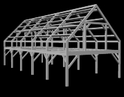 24 x 60 Timber Frame Barn