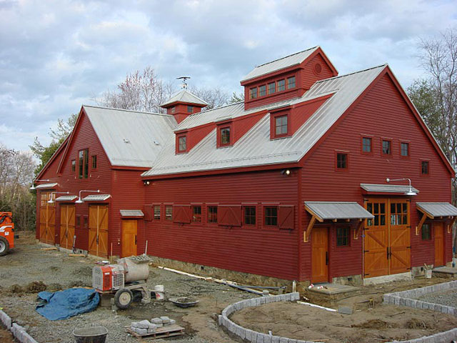 Completed Barns - Maine Barn Company