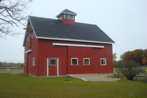 Large Red Barn Essex