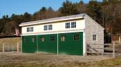 Timber Frame Run In Shelter North Shore Massachusetts