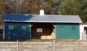 Timber Frame Run In Shelter for Farm